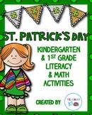St. Patrick's Day Activities for Literacy & Math Kindergarten & First Grade