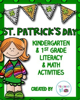 St. Patrick's Day Activities for Literacy & Math Kindergar