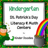 St. Patrick's Day Literacy & Math Centers