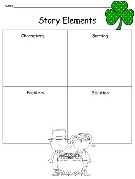 Common Core aligned! St. Patrick's Day Literacy, Math, & Writing Activities -