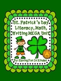 St. Patrick's Day Literacy, Math and Writing MEGA Unit