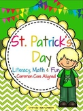 St. Patrick's Day Literacy, Math, and fun BUNDLE