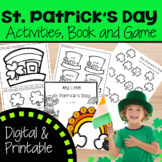 St. Patrick's Day with Craft, Mini Book and Game