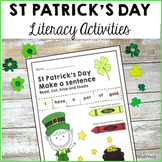 St Patrick's Day Literacy Activities and Centers