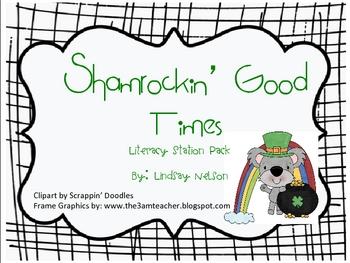 St. Patrick's Day Literacy Stations