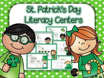 St. Patrick's Day Literacy Work Stations