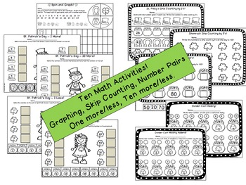 St. Patrick's Day Literacy and Math Activities {With Editable Pages!}