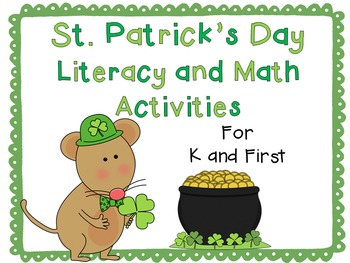 St. Patrick's Day Literacy and Math Activities {With Edita