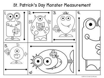 St. Patrick's Day Literacy and Math Activities and Craft