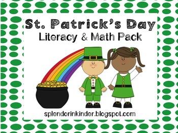 St. Patrick's Day Literacy and Math Pack