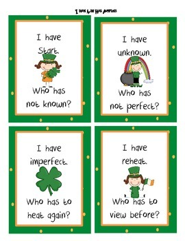 St. Patrick's Day Literacy and Math Packet: Luck O' the Irish