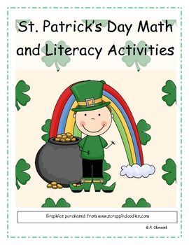 St. Patrick's Day Literacy and Math Printables