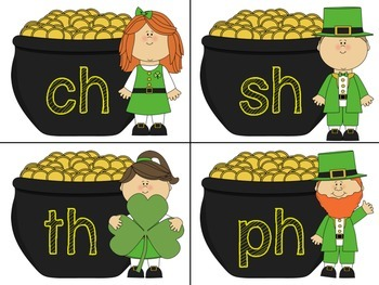 St Patricks Day Literacy and Maths Centers