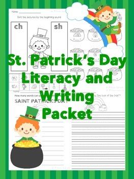 St. Patrick's Day ELA Activities