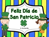 St. Patrick's Day Literacy and Writing in Spanish