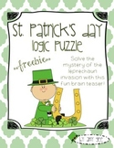 St. Patrick's Day Logic Puzzle Freebie
