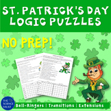 St Patrick's Day Logic Puzzles Two Great Puzzles for Critical Thinking Skills!