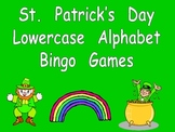 St. Patrick's Day Lowercase Alphabet Bingo- Preschool or Kindergarten