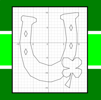 St. Patrick's Day - Luck of the Irish -  A Coordinate Graphing Activity