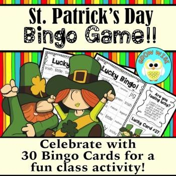 "St. Patrick's Day ""Lucky Bingo!"" **Newly Updated"