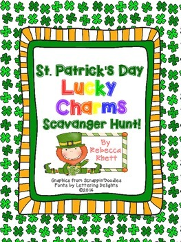 St. Patrick's Day Lucky Charms Scavenger Hunt