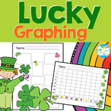 St. Patrick's Day Lucky Graphing with cereal