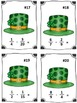St. Patrick's Day Lucky Hat Fraction Subtraction Math Center (Common Core)