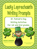 St. Patrick's Day Writing Activities: Lucky Leprechaun's W