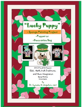 "St. Patrick's Day ""Lucky Puppy"" Art Project or Puppet"