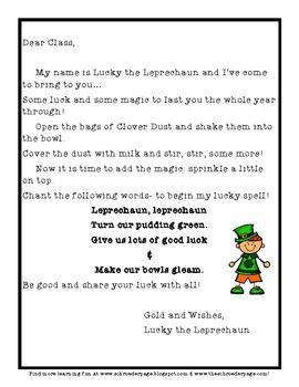 St. Patrick's Day: Lucky the Leprechaun RETURNS!