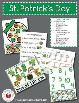 St. Patricks Day MEGA FREEBIE