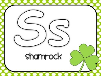 St. Patrick's Day MEGA Literacy & Math Pack ~ Letter/Number Recognition