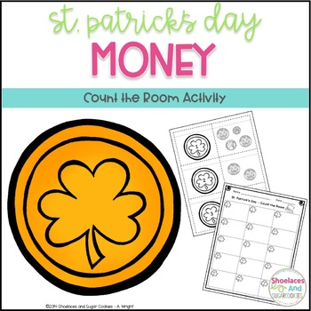 Money - Count the Room Activity - St. Patrick's Day