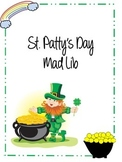 St. Patrick's Day Mad Lib {Parts of Speech}