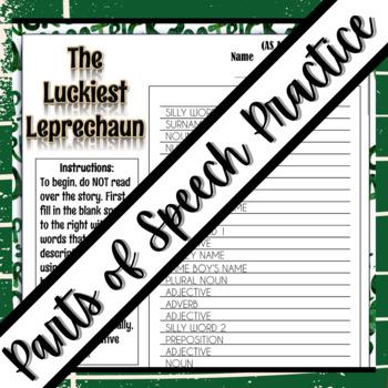 "St. Patrick's Day Activity: ""Mad Libs"""