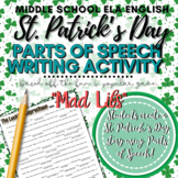 "St. Patrick's Day Activity: ""Mad Libs"""