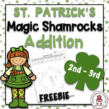 St. Patrick's Day Magic Shamrocks - FREEBIE