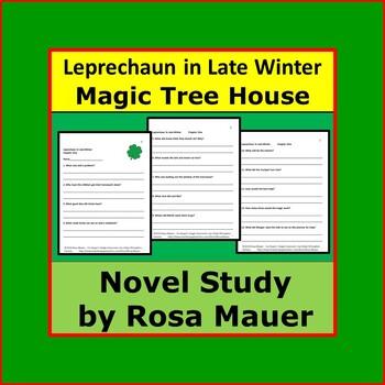 Leprechaun in Late Winter Magic Tree House 43 Novel Study