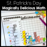 St. Patrick's Day - Graphing and Tally Marks with Lucky Charms