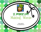 St. Patrick's Day {Making Words Activity}