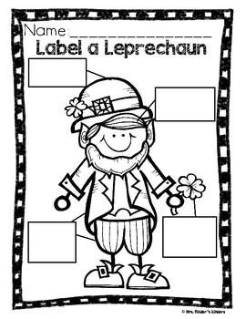 St. Patrick's Day - Language Arts & Math