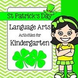 Language Arts Activities for Kindergarten in March
