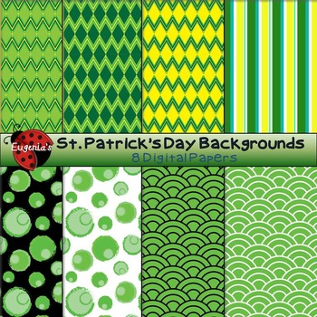 St. Patrick's Day Mash ( A Combo of Digital Papers Ready for March)