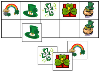 St. Patrick's Day Match-Up and Memory