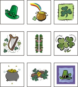 St. Patrick's Day Matching Games eBook