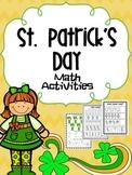 St. Patrick's Day Math