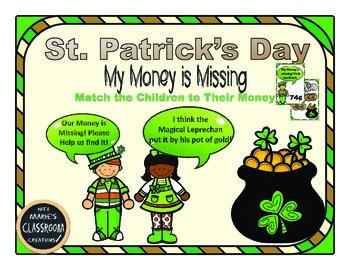 St. Patrick's Day ~ Math