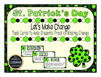 St. Patrick's Day ~ Math