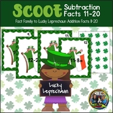 St. Patrick's Day Math Scoot for Subtraction 11-20
