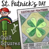 St. Patricks Day Fraction Math Activity